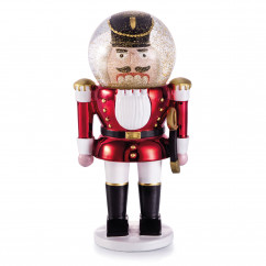 Glitzerkugel Nussknacker - The Nutcracker - von donkey products. Originelle Nussknacker Schneekugel Figur.