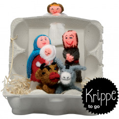 Krippe to go Christmas, Fingerpüppchen