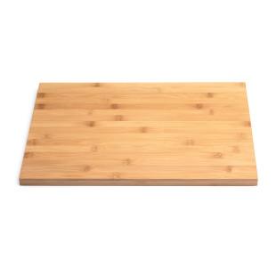 CRATE BOX Auflagebrett aus Bambusholz von höfats macht aus dem Feuerkorb CRATE BOX einen Hocker oder Beistelltisch.