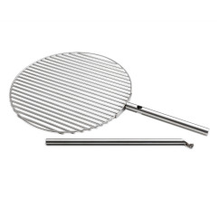 Höfats Grillrost für Feuerschale TRIPLE. Edelstahl Grillrost 55 cm für Feuerschale.