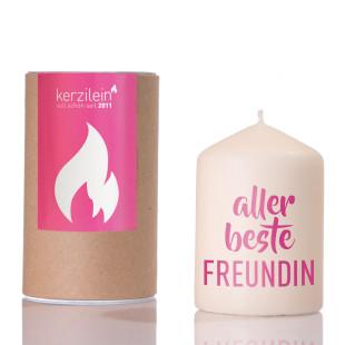 Kerze - Beste Freundin