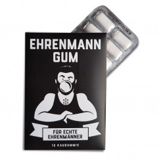 Ehrenmann GUM (12 Kaugummis)