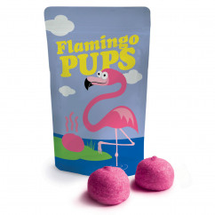 Flamingo Pups - Marshmallows Tüte - liebeskummerpillen