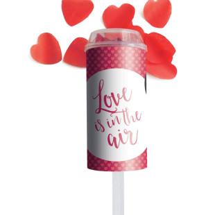 Konfetti Popper Love von liebeskummerpillen verschießt buntes Konfetti auf der nächsten Feier.