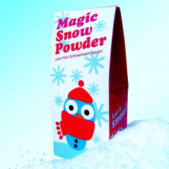 Magic Snow Powder / Minischneemann bauen