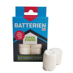 Marshmallow Batterien - Spaßprodukt von liebeskummerpillen - neue Energie garantiert!