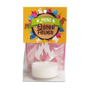 Mini Osterfeuer - Ostergeschenk von liebeskummerpillen - Geschenktüte Ostern mit Teelicht zum Verschenken
