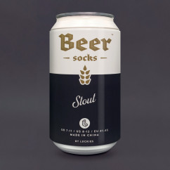 Bier Socken in der Dose von Luckies - Beer Socks - Stout - Dose
