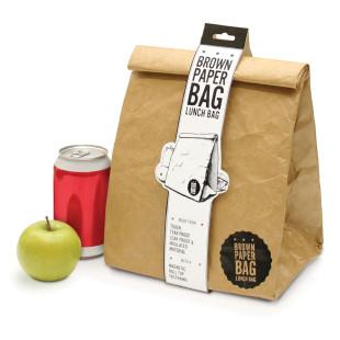 Lunch Bag - reißfeste Tyvek-Tüte mit Isolierung und Magnetverschluss von luckies.