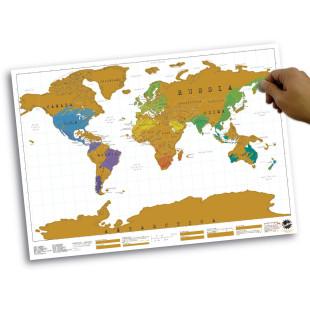 Weltkarte Scratch Map