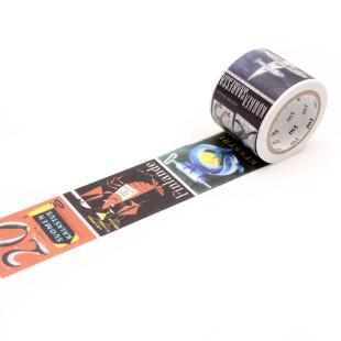 Designer mt masking tape POSTER / Washi Tape ARTIST by Erik Bruun. Japanisches Washitape aus Reispapier mit Illustration