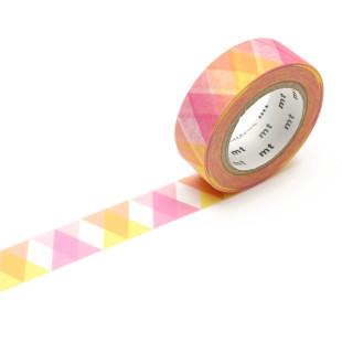mt masking tape / Washi Tape DECO TRIANGLE - Dreiecke pink | Washi Tape Klebebänder