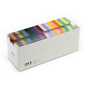 Dekorative mt masking tapes. Washi tapes schmal im 20er Pack. Original mt masking tape by Kamoi aus japanischem Reispapier