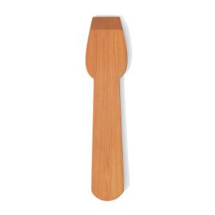 Eislöffel Holz | Nachhaltiger Eisportionierer aus Kirschholz von side by side design. Design Eisschaber.