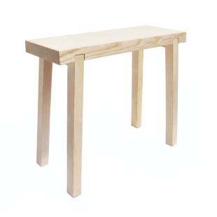 HockerBank von side by side Design - Design Holzhocker aus Eschenholz - Made in Germany: Caritas Wendelstein Werkstätten - Design Hocker aus Esche