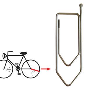 XXL Büroklammer Speicher (echte Fahrradspeiche)