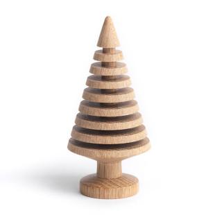 Tannenbaum TREE BRANCHES 13 cm aus Eichenholz von THE OAK MAN - Weihnachtsbaum, Weihnachtsdekoration, Designbaum, Christbaum